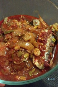 mackerel pike side dish