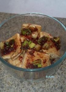 tofu side dish